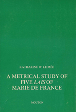 A Metrical Study of Five Lais Of Marie De France